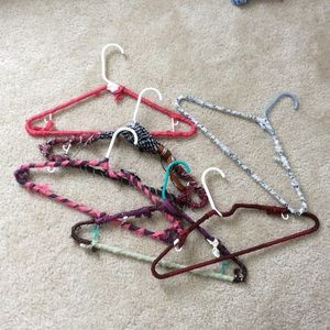 Upcycled Hangers One Dozen
